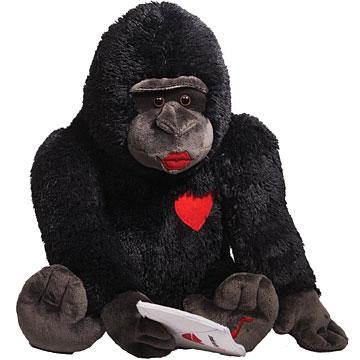 Gund Hot Lips Harry Singing Valentines Gorilla