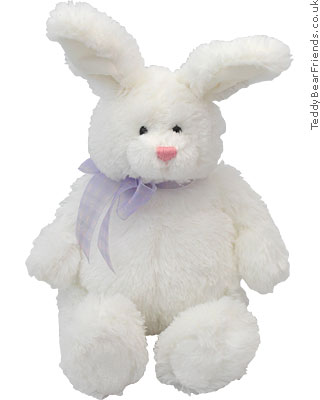 Hunnybunny White Rabbit Gund Teddy Bear Friends