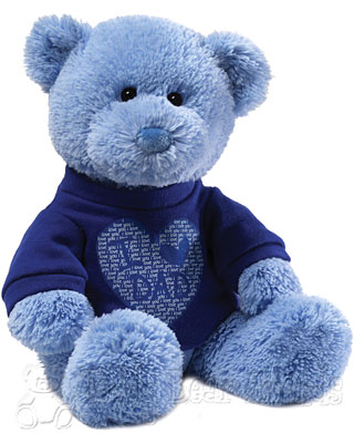 Gund I Love Dad Teddy Bear