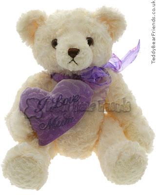Aurora I Love Mum Teddy Bear