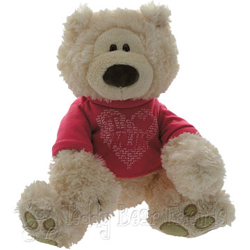 Teddy Bear Friends Exclusive I Love Mum Teddybear