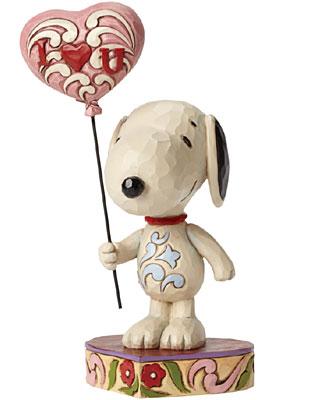 Peanuts I Love You Snoopy Figurine