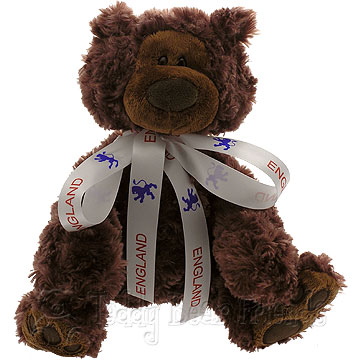 Teddy Bear Friends Exclusive I Support England Teddy Bear