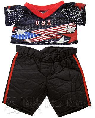 Teddy Bear Clothes Shop Ice Hockey Outfit For Teddy Bear