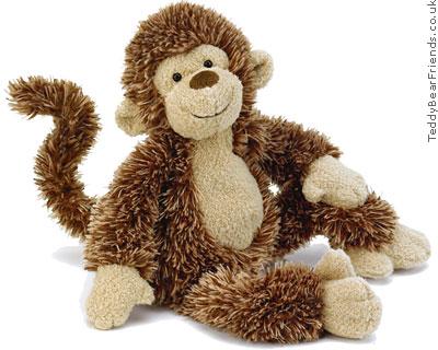 Jellycat Pootlie Monkey