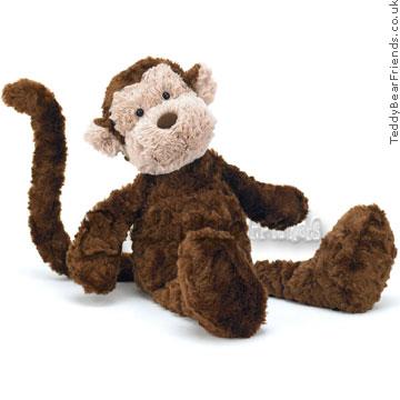 Jellycat Skiffles Monkey