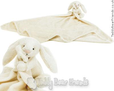 Jellykitten Bashful Bunny Comforter Cream