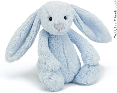 Jellykitten Bashful Bunny Medium Blue
