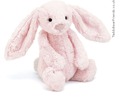 Jellykitten Bashful Bunny Medium Pink