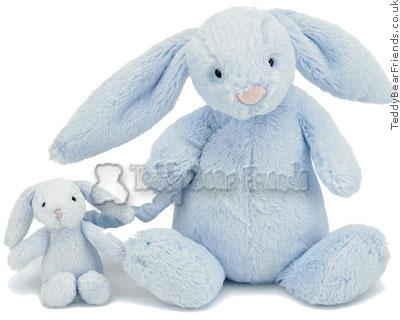 Jellykitten Bashful Bunny Musical Blue
