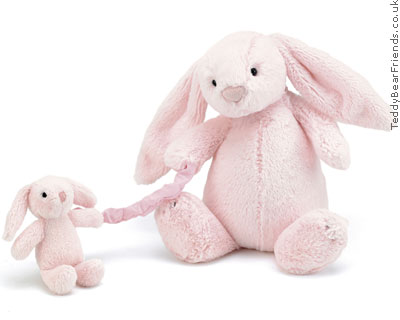 Jellykitten Bashful Bunny Musical Pink