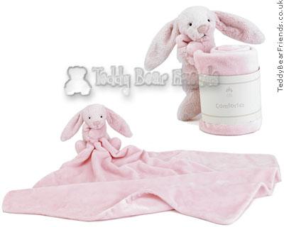 Jellykitten Bashful Pink Bunny Comforter