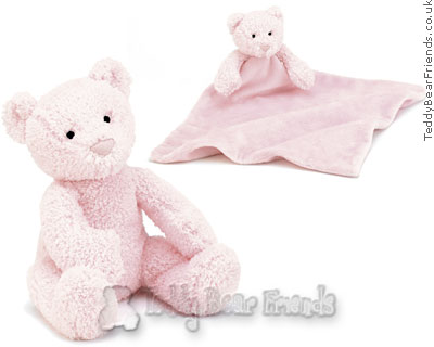 Jellykitten Pink Bebe Bear and Soother