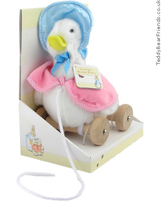 Augusta Du Bay Jemima Puddle-duck Pull Along Toy