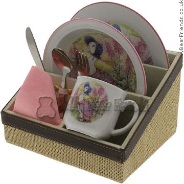 Reutter Porcelain Jemima Puddleduck Breakfast Set