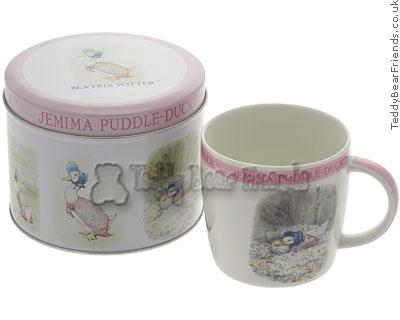 Churchill Jemima Puddle-duck Mug in Tin