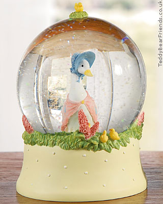 Border Fine Arts Jemima Puddle-duck Snowglobe