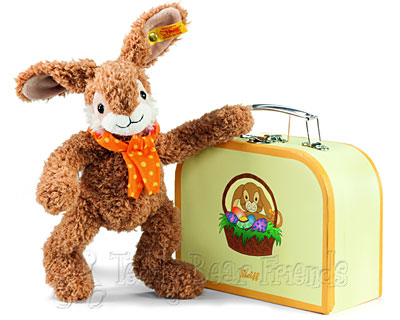 Steiff Jolly Rabbit in Suitcase