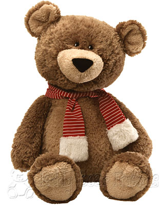 Gund Jumbo Snuffy Snugglebottoms Teddy Bear