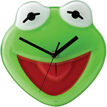 Disney Enchanting Collection Kermit The Frog Clock