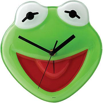Disney Enchanting Collection Kermit The Frog Clock