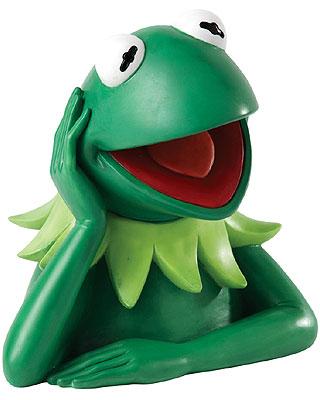 Disney Enchanting Collection Kermit Frog Money Bank