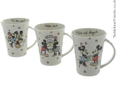 Churchill Kiss Me Mickey Mouse Mugs