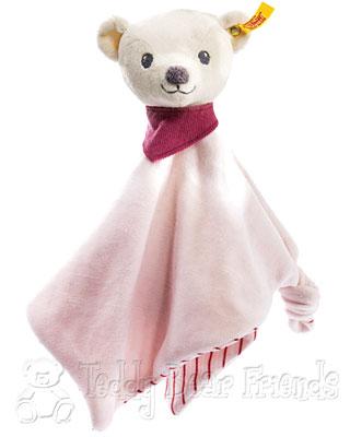 Steiff Baby Knuffi Girls Teddy Bear Comforter