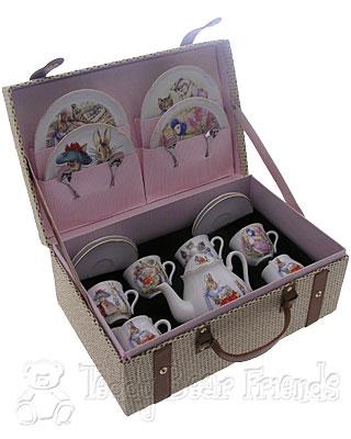 Reutter Porcelain Large Beatrix Potter Childrens Tea Set
