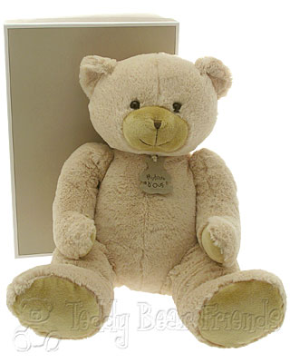 Histoire d'Ours Large Beige Teddy Bear