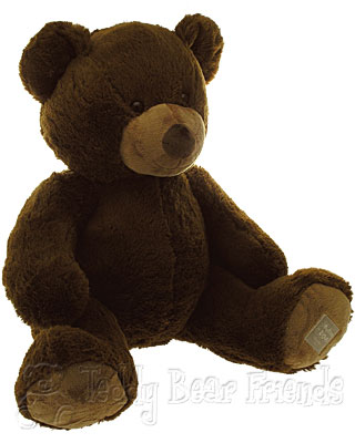 Histoire d'Ours Large Brown Teddy Bear Bel Ours