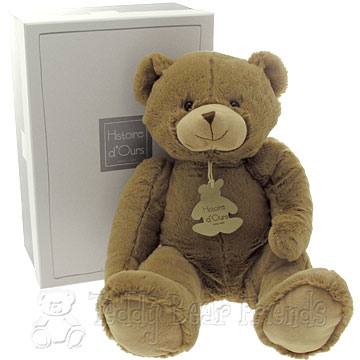 Histoire d'Ours Large Brown Teddy Bear