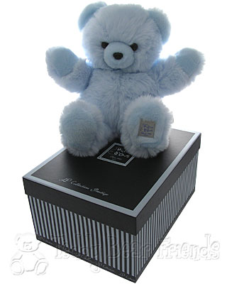 Histoire d'Ours Large Gift Boxed Blue Teddy Bear