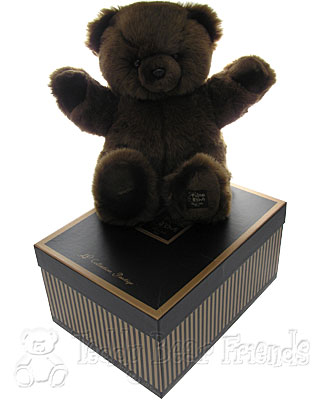 Histoire d'Ours Large Gift Boxed Dark Brown Teddy Bear