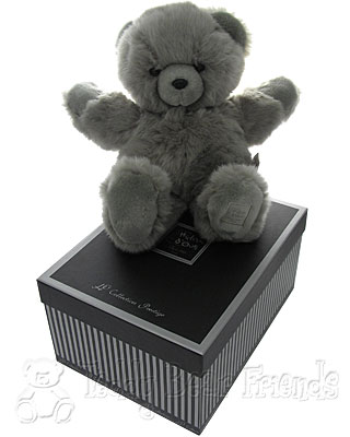 Histoire d'Ours Large Gift Boxed Grey Teddy Bear