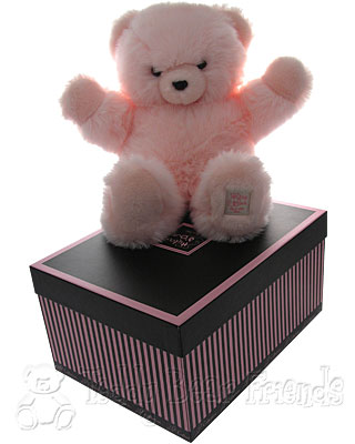 Histoire d'Ours Large Gift Boxed Pink Teddy Bear
