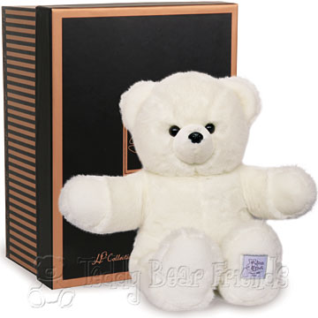 Histoire d'Ours Large Gift Boxed White Teddy Bear