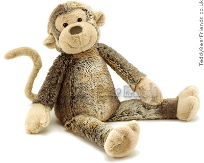 Jellycat Large Puddle Monkey