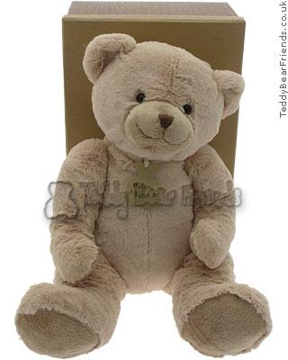 Histoire d'Ours Large Soft Beige Bear