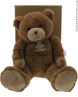 Histoire d'Ours Large Soft Brown Bear