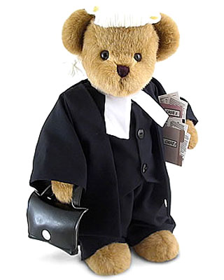 Character Bears Legal Bear