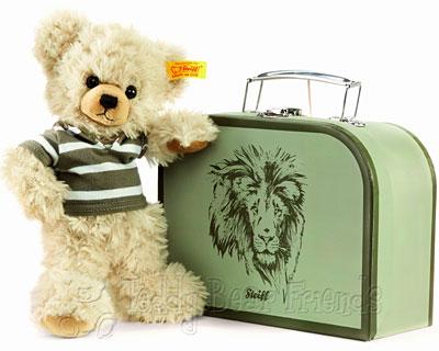 Steiff Lenni Teddy Bear in Suitcase