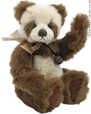 Charlie Bears Lily Girl Panda Bear