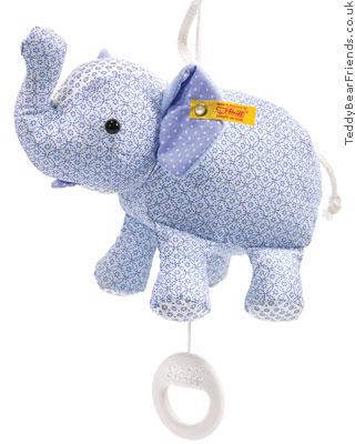 Steiff Baby Little Circus Elephant Music Box