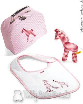 Steiff Baby Little Circus Giraffe Gift Set