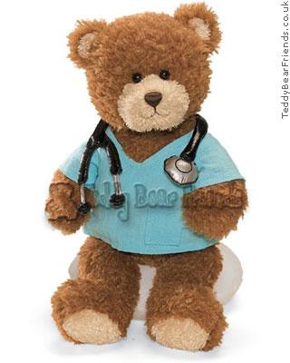 Gund Little Doctor Bear