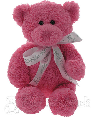 Teddy Bear Friends Exclusive Little Get Well Teddy Bear For A Girl