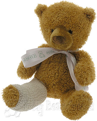 Teddy Bear Friends Exclusive Little Get Well Teddy Bear With Broken Leg