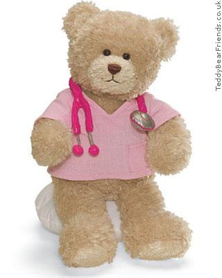 Gund Little Nurse Bear