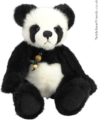 Charlie Bears Little Panda Bear Bamboo